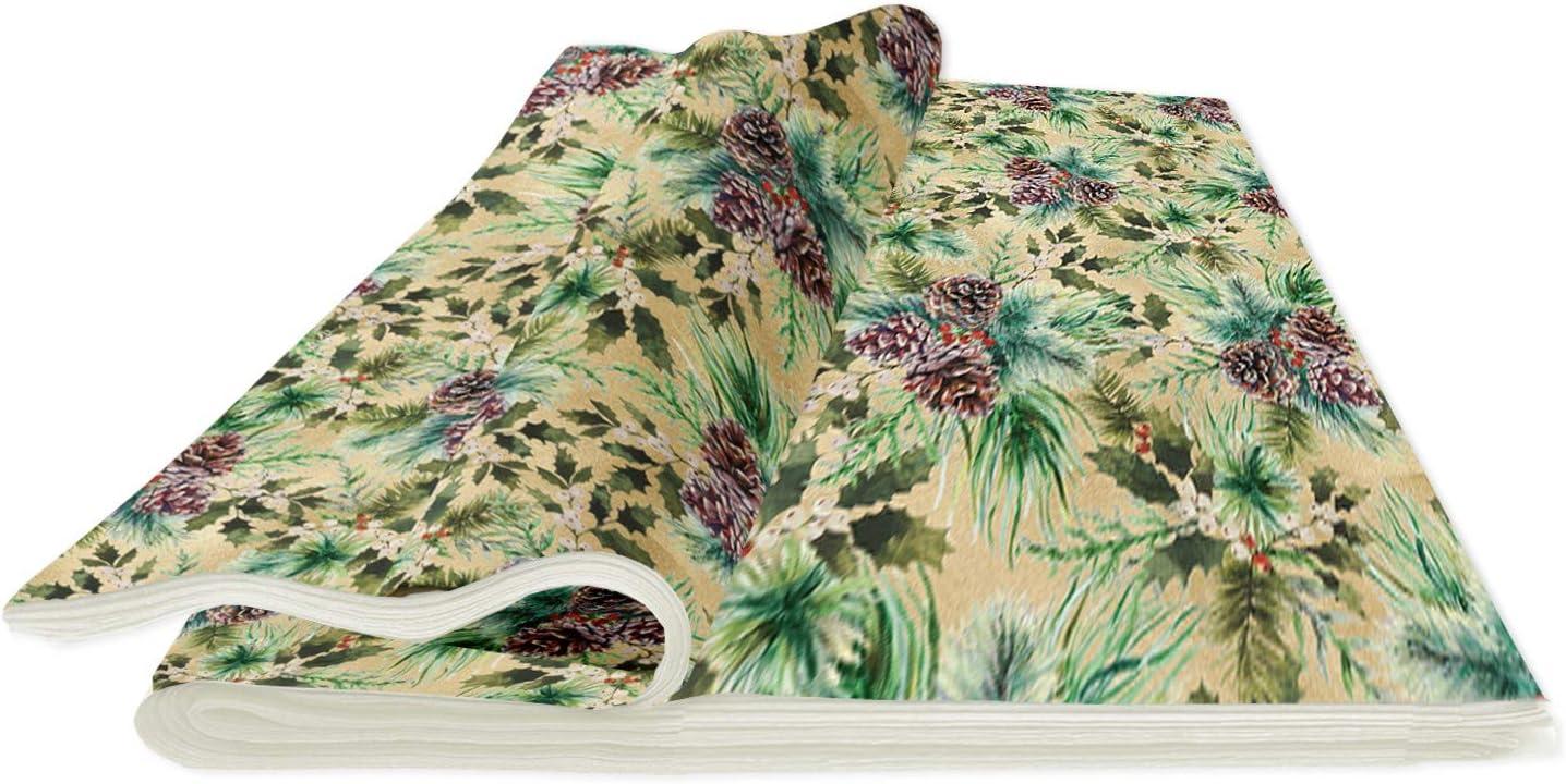 Jillson Roberts Christmas Tissue Paper, Elegant Pine