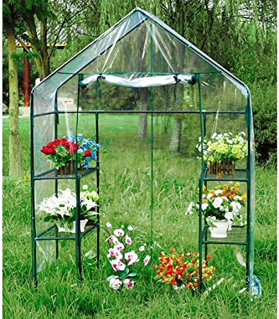 Greenhouse Replacement Cover Outdoor Plastic Small Garden Plants Flowers PVC NEW