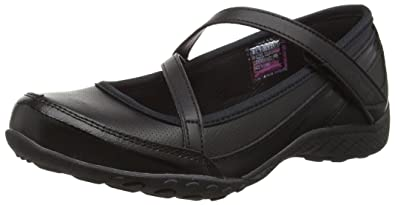 ed38c7149b02 Skechers Girls  Breathe Easy Mary Jane  Amazon.co.uk  Shoes   Bags