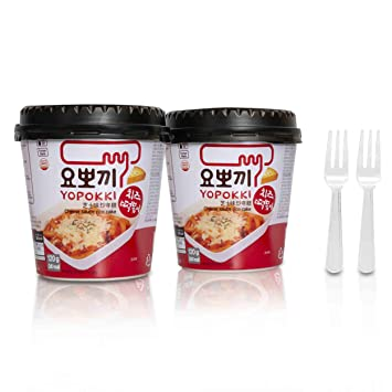 What can you eat korean rice cakes with