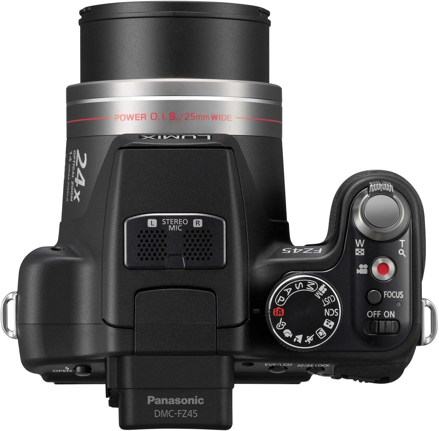 Panasonic Lumix Dmc Fz45eg K Digitalkamera 3 Zoll Kamera