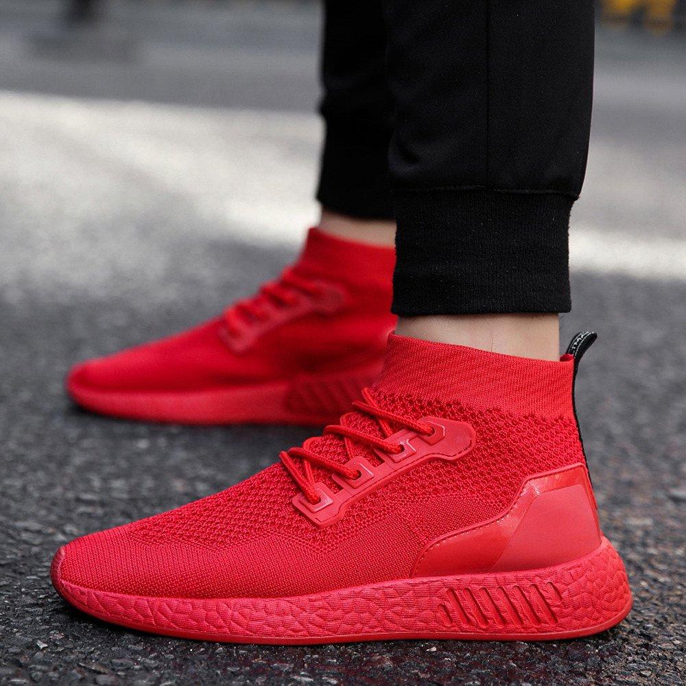 ❤ Calzado Deportivo para Hombres, Hombre de Moda High Help Soft Sole Running Calzado Calzado Deportivo Calcetines Zapatos Absolute: Amazon.es: Ropa y ...