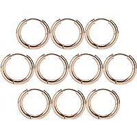 Kleine hoepel oorbellen, mode gouden hoepel oorbellen, lichtgewicht en compacte open hoepels oorbellen DIY accessoires…
