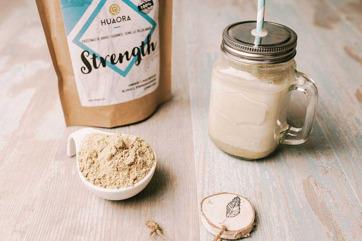 ... proteína de guisante y proteína de semilla de calabaza | Proteínas Vegetales Orgánicas en Polvo | Sin Gluten y apto para Veganos: Amazon.es: Salud y ...