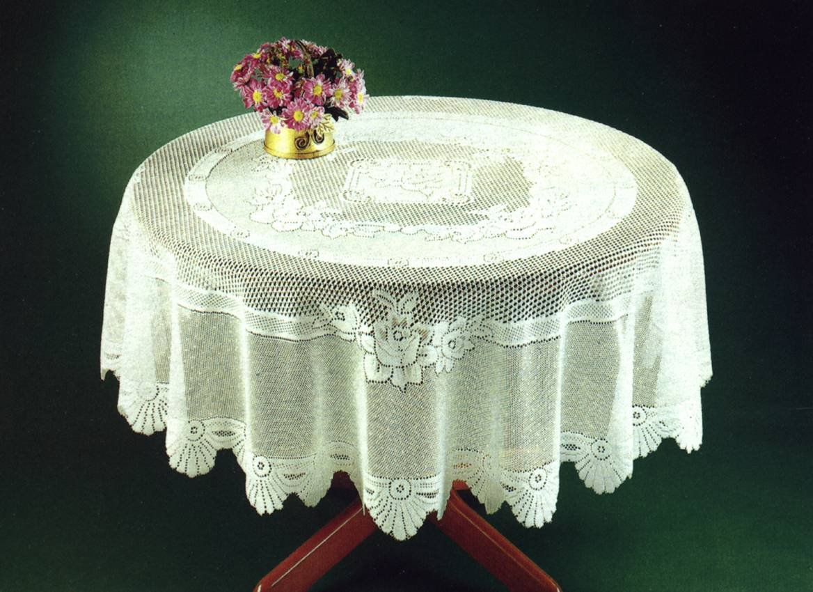 monica lace tablecloth traditional rose pattern table linen 36 square cream amazoncouk kitchen u0026 home