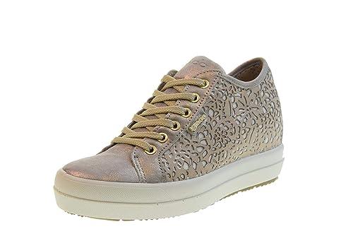 IGI&CO Zapatos Mujer Zapatillas con cuña 3157033 Taupe: Amazon.es: Zapatos y complementos