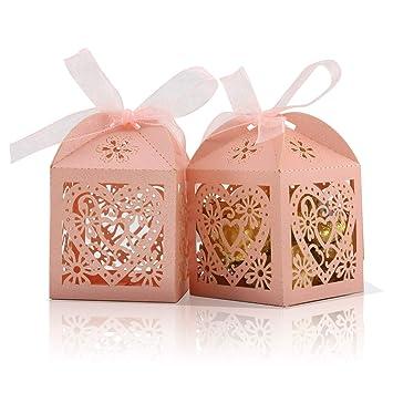 Amazon.com: COTOPHER 100 cajas de caramelos cortadas con ...