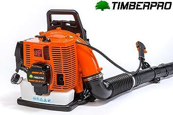 Timberpro - Soplador de hojas térmico de mochila, de 85 cm³ ...