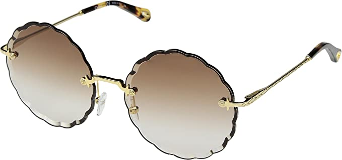 Chloé Gafas de Sol ROSIE CE142S GOLD/BROWN SHADED mujer ...