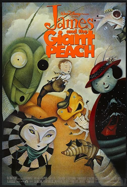 #01 James And The Giant Peach Movie Poster 11x17 Mini Poster 28cm x43cm