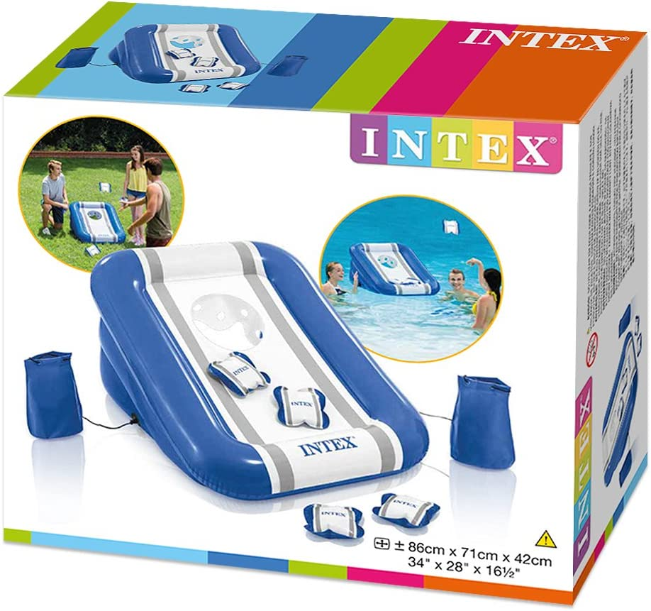 Intex 57503NP - Juego canasta hinchable 71 x 42 x 86 cm: Amazon.es ...