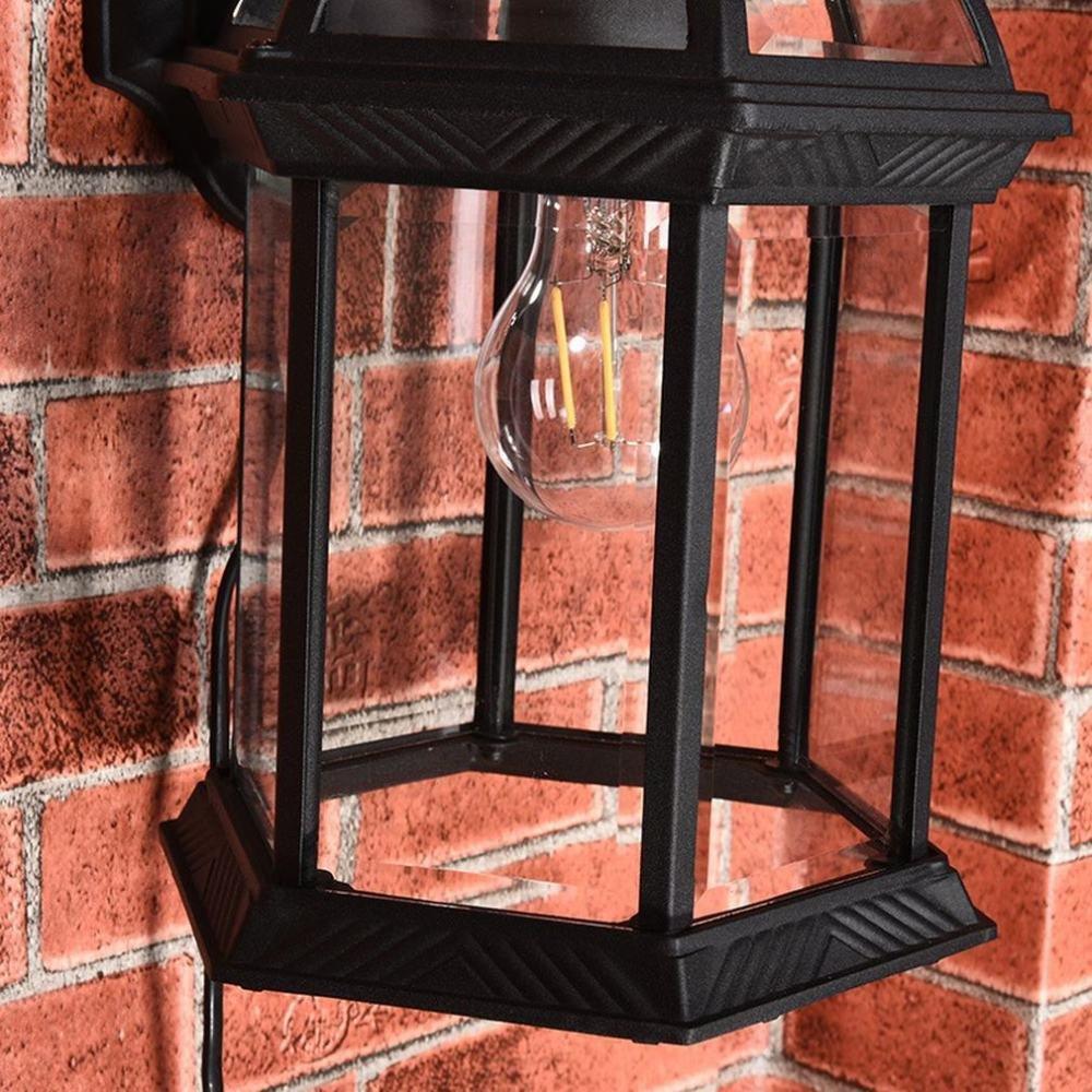 YLXB Applique da esterno a LED per esterni Applique da parete moderna e semplice in ceramica,UN,7w