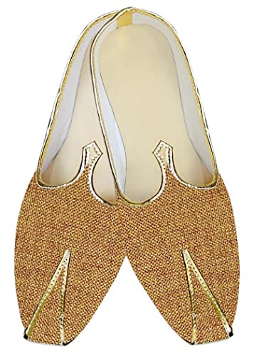 Mens Bisque Wedding Shoes Bollywood MJ014195