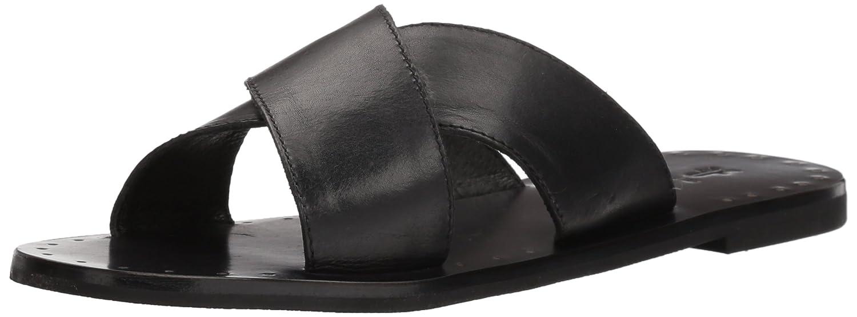 FRYE Women's Ally Criss Cross Slide Sandal B074QT8NRY 8 B(M) US|Black