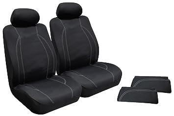 Sensational Amazon Com Type S Sc53757 6 Black Wetsuit Seat Cover Kit Machost Co Dining Chair Design Ideas Machostcouk
