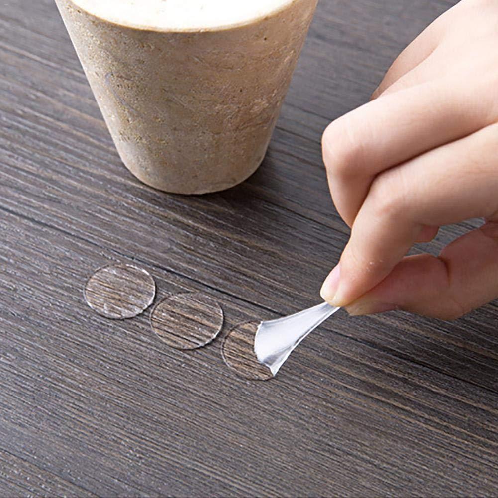 70PCS//Pack masilla autoadhesiva transparente removible,masilla pegajosa sin traceado redonda,adhesiva a doble cara,montaje de pegatinas adhesivas para colgar carteles,fotos,fotograf/ía art/ística