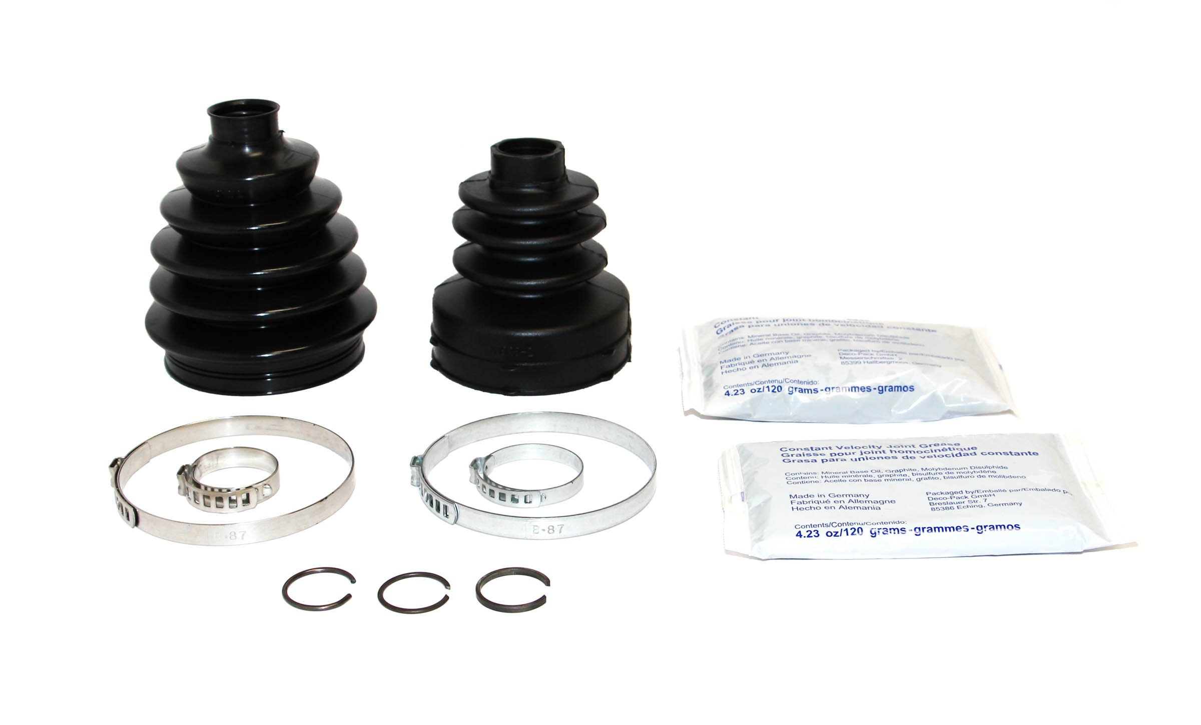 Rein Automotive BKN0144 CV Joint Boot Kit (Front Left or Right)