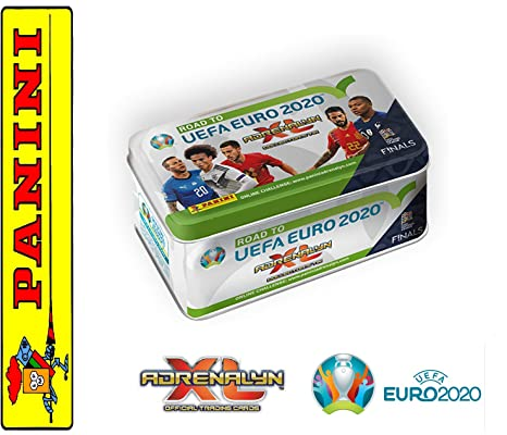 Panini Tin Box Road to UEFA Euro 2020 adrenalyn XL + ...