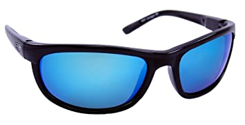 blue polarized lenses  Amazon.com : Sea Striker Outrigger Polarized Sunglasses with Black ...