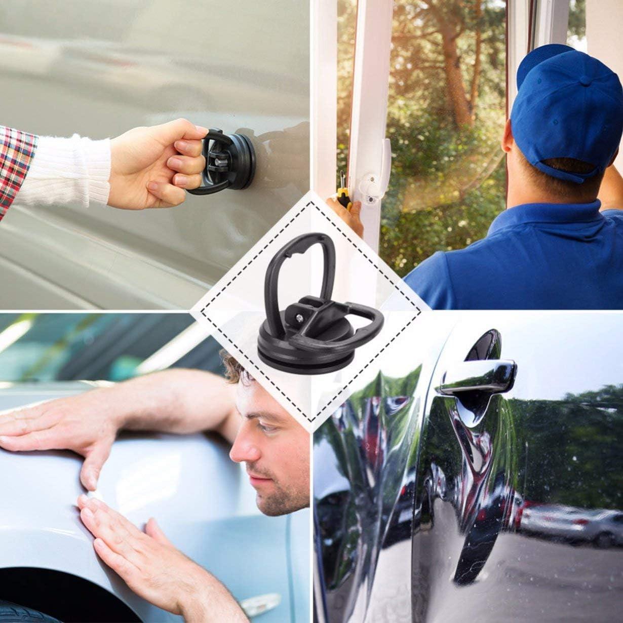 camellia/® ni voiture Dent Remover Puller Auto Body Enl/èvement De Dent Dent Outils Forte Ventouse Kit De R/éparation Automatique Verre Lifter En M/étal Verrouillage Utile Couleur Al/éatoire