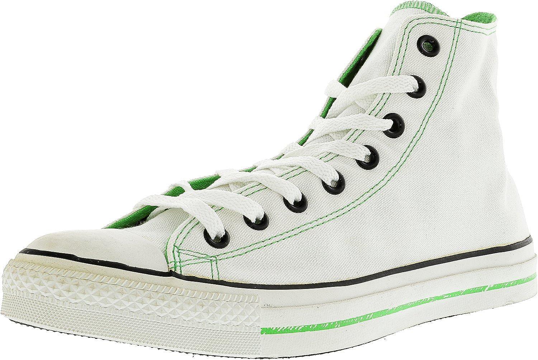Converse Chuck Taylor Logos Hi High-Top Canvas Fashion Sneaker