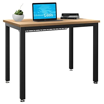 small tables for office. Small Computer Desk For Home Office - 36\u201d Length Table W/ Cable Organizer Tables M