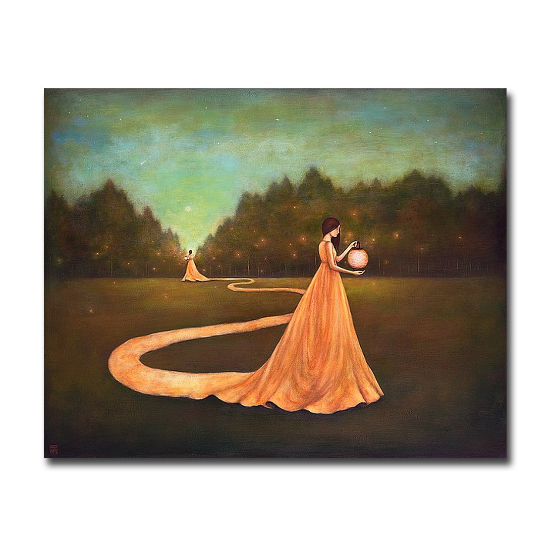 Unwinding the Path to Self-Discovery by Duy Huynh Custom Gallery-Wrapped Canvas Giclee Art (Ready to Hang)