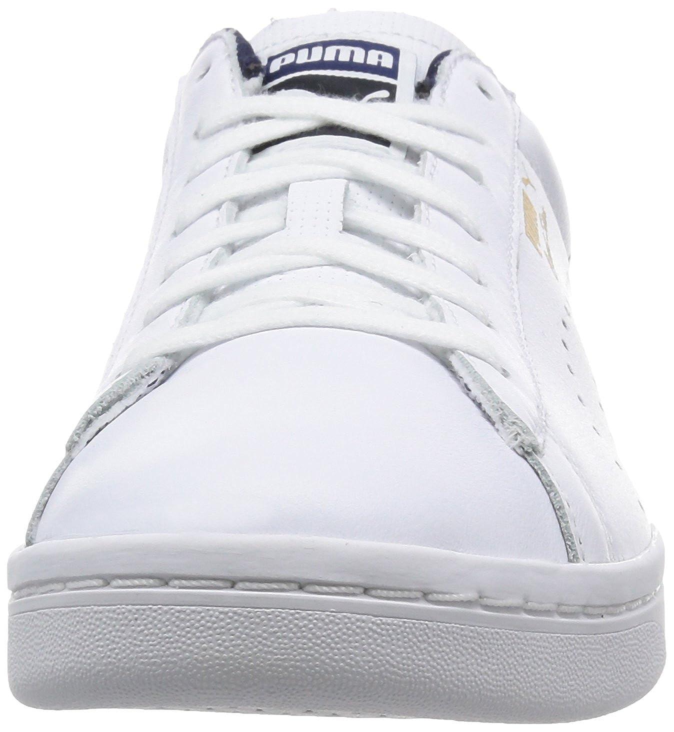 Puma Unisex-Erwachsene Unisex-Erwachsene Unisex-Erwachsene Court Star Crafted Turnschuhe Weiß-Weiß (Weiß Peacoat) 38 EU fef45e