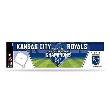 Mlb kansas city royals 2015 world series champion bumper sticker blue 11 1