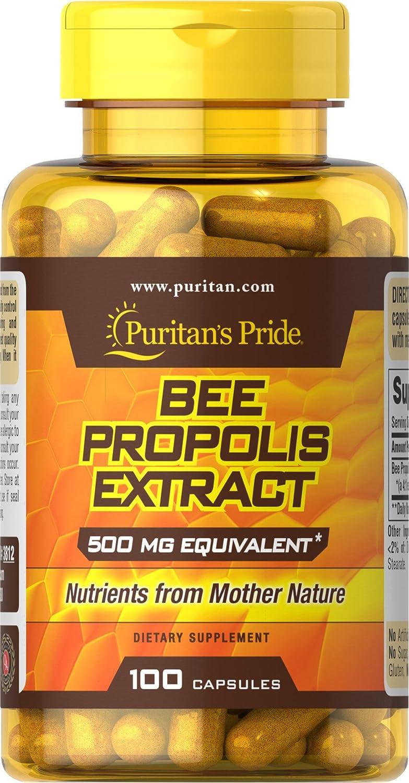 プロポリス500mg100錠BEE PROPOLIS500mg100Capsules B004R637AI
