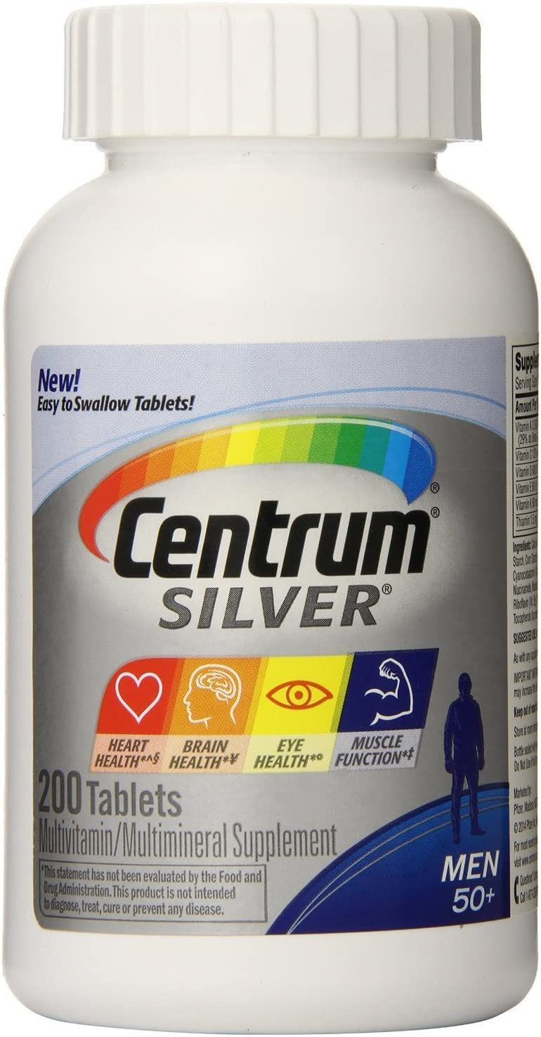 Centrum Silver Men 50 -Super Pack-400-Count Package