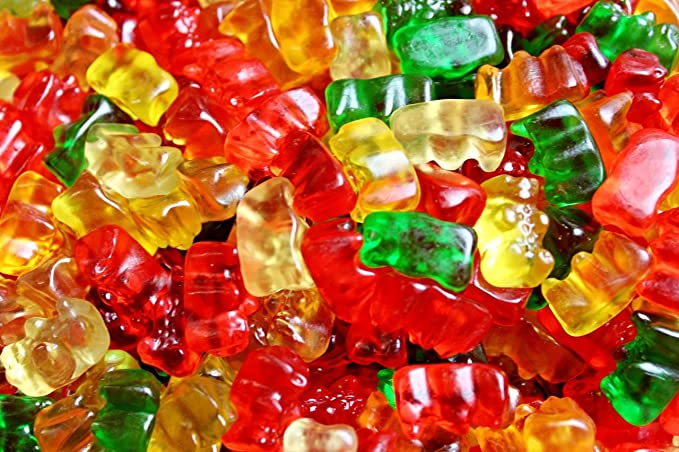 Haribo Gummi Candy osos dorados bolsa a granel de 2.5 libras ...