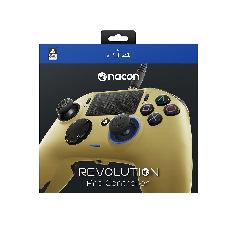 Pro AlámbricoColor Mando Nacon Doradops4 Revolution Controller VpMzSqU