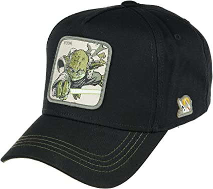 Capslab Yoda Adjustable Cap Star Wars Black - One-Size: Amazon.es ...