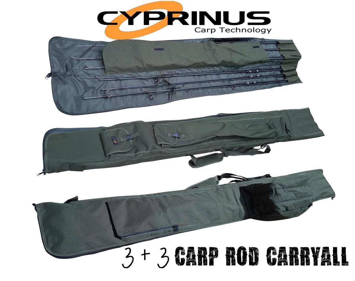 Cyprinus 12ft 6 Carp Rod Skin Rod Sleeve Holdall NEW Carp Fishing Luggage CYP-33RC