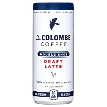 La Colombe Double Shot Draft Latte- Grab And Go Coffee