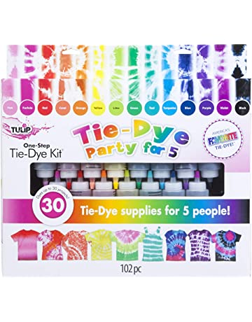 16b0036c5a0a Tulip one-step tie-dye 15-Color Party Kit