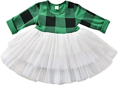 Forestime Toddler Kids Fashion Baby Girls Long Sleeve Star Clothes Party Princess Dresses