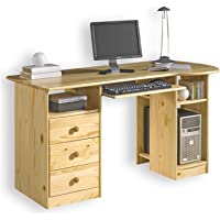 IDIMEX Schreibtisch PC-Schreibtisch, mehrere Farben, Tastaturauszug