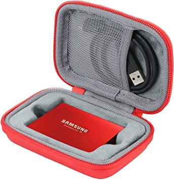 co2CREA Duro Viajar Fundas Caso Cubierta Estuche para Samsung T5 ...