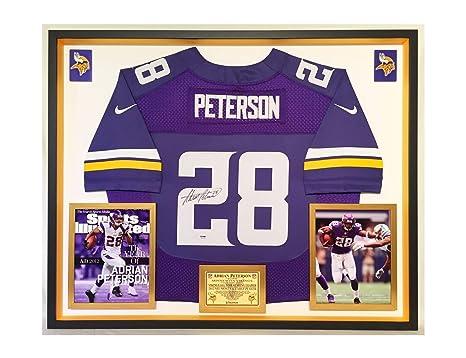 Premium Framed Adrian Peterson Autographed Signed Minnesota Vikings ... 9f2678c74