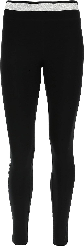 FREDDY Leggings Donna Fitness Modellanti a 7//8 con Dettagli Argento