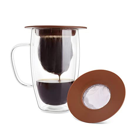 Amazon.com: Geesta - Cafetera portátil con bolsa de malla ...