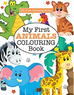 Coloring Books for Kids & Toddlers: Animals Coloring: Children ...