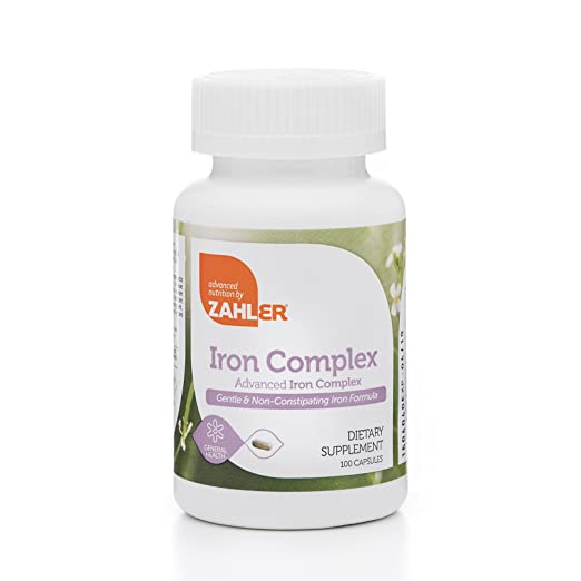 Product thumbnail for Zahlers Iron Complex