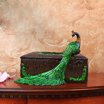 Khskx Der Pfau Zimmer Box Hochzeit Dekorationen Verpackung