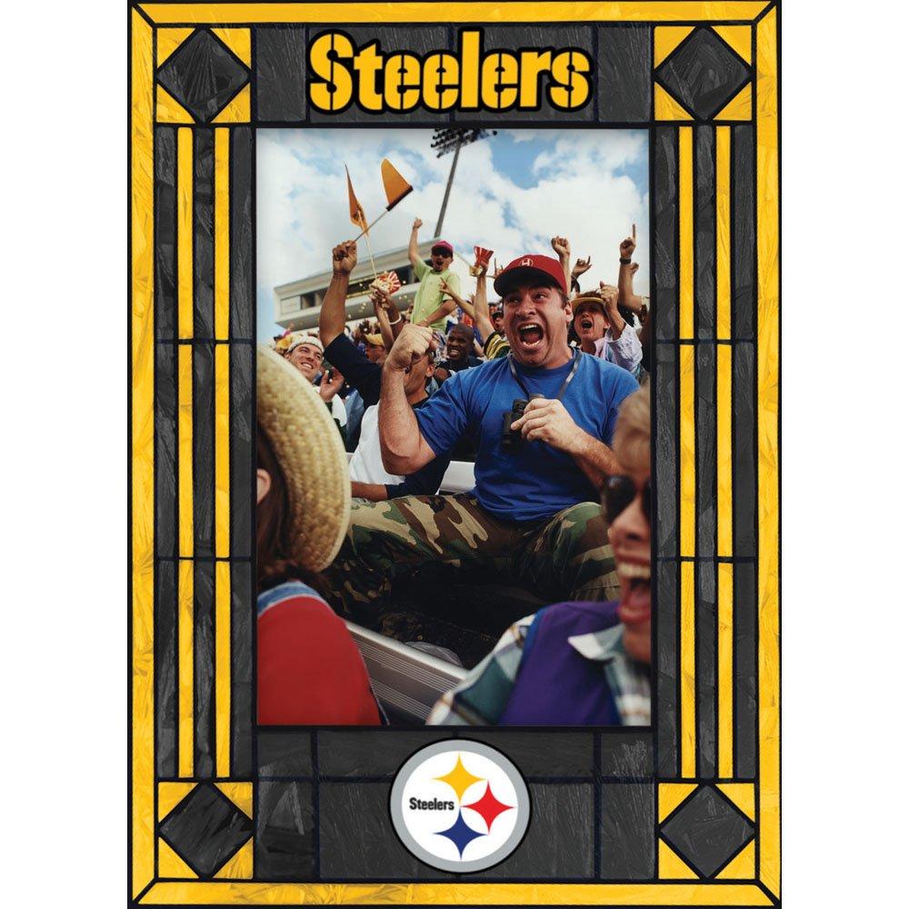 Pittsburgh Steelers Art Glass Frame
