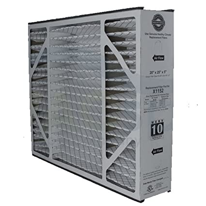 "lennox x1152 merv 11 filter - 20"" x 25"" x 5"" - replacement furnace ..."