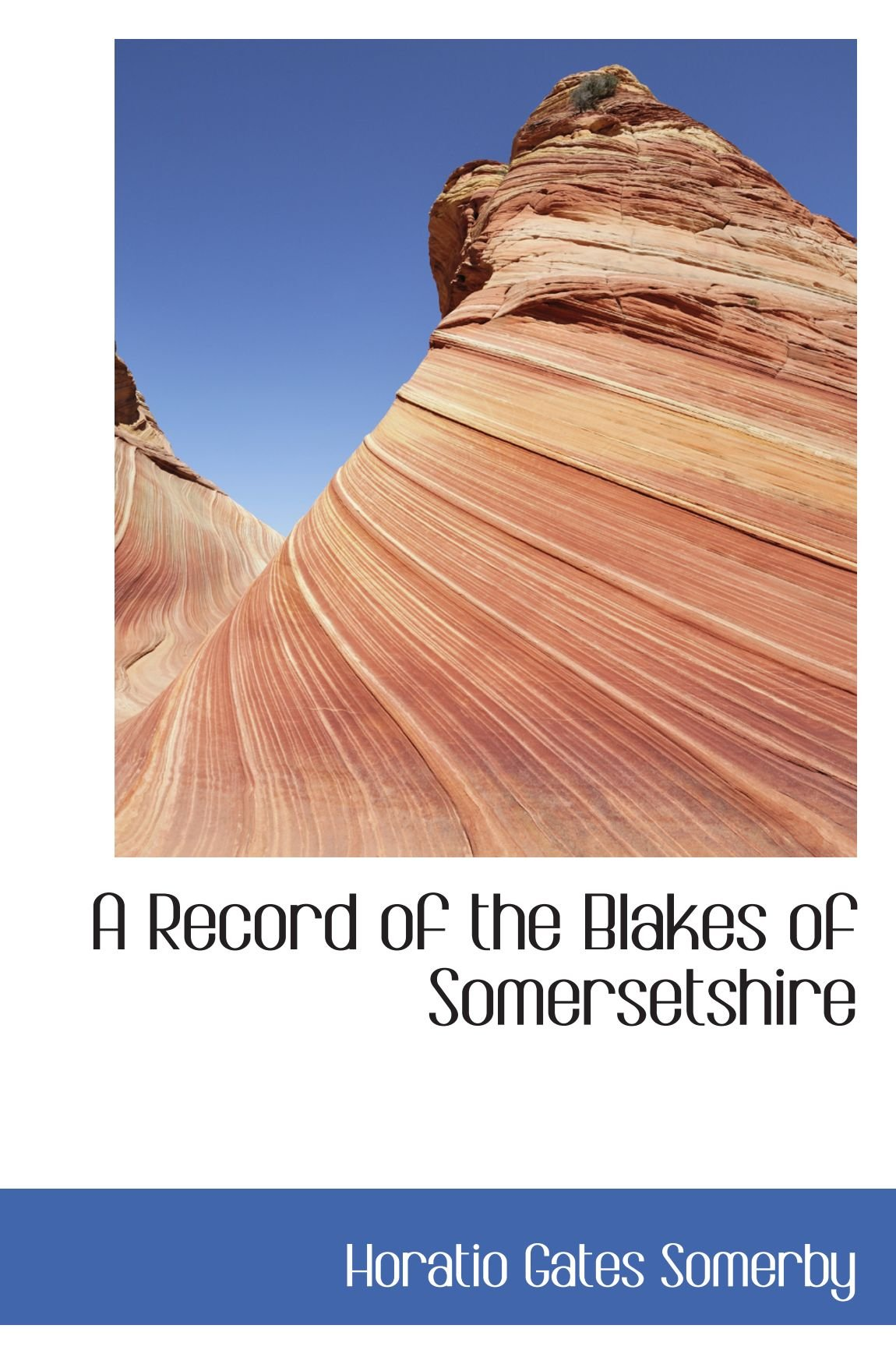 Download A Record of the Blakes of Somersetshire pdf epub