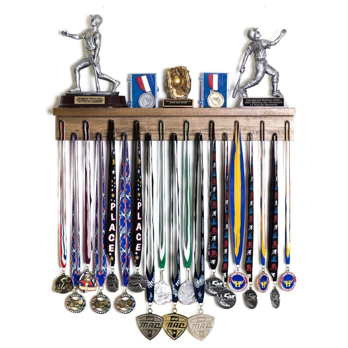 Premier 2ft Award Medal Display Rack and Trophy Shelf by MedalAwardsRack